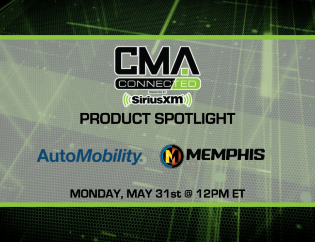 CMA CONNECTED | Memphis Audio