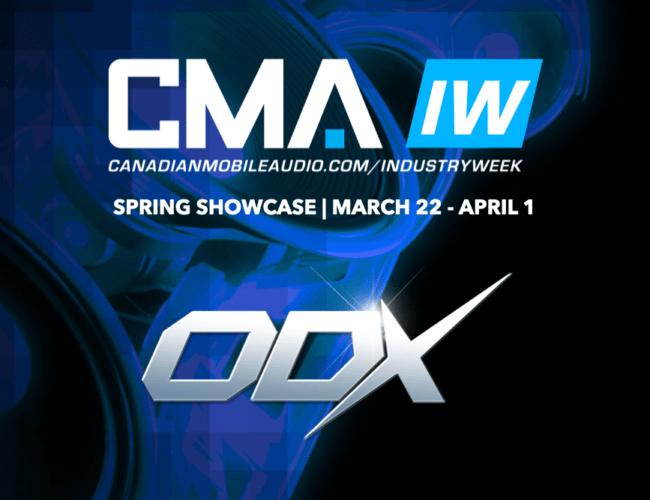 ODX @ l'industrie CMA