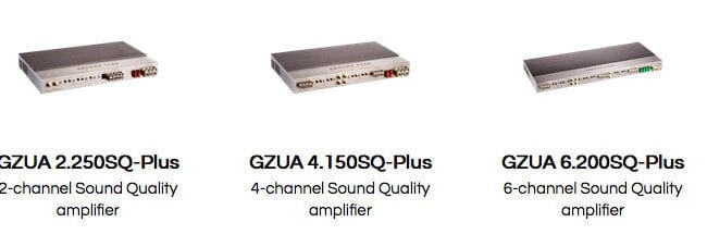 Product Spotlight   The GZUA 6.200SQ-Plus, the GZUA 4.150SQ-Plus and the GZUA 2.250SQ-Plus from GroundZero