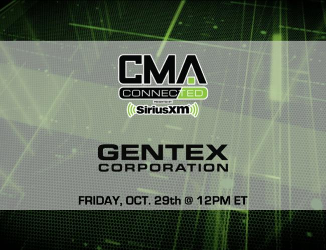 CMA CONNECTED | Gentex