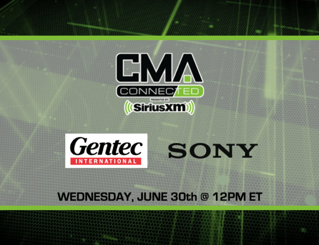 CMA CONNECTED | Sony