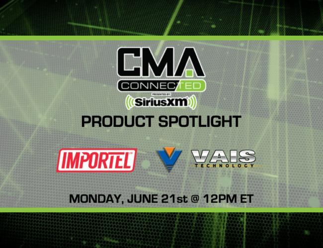 CMA CONNECTED | VAIS Technology