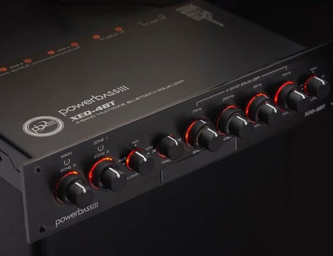 Product Spotlight | XEQ-4BT 4-Band Multi-zone Bluetooth Equalizer from PowerBass