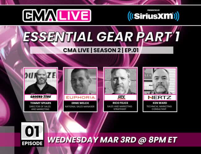 CMA LIVE | EP.01 | ESSENTIAL GEAR PART 1