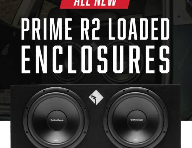 Product Spotlight   Prime Dual R2 12″ Sealed Loaded Enclosure