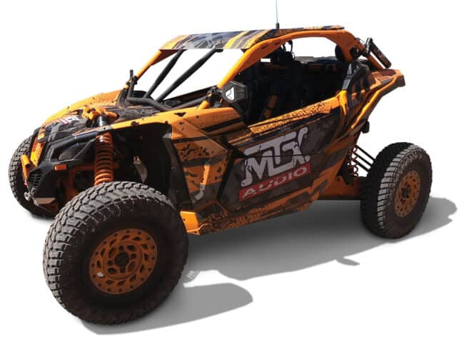 Product Spotlight | New Audio Kits and Components for 2017+ Can-Am Maverick X3 vehicles from MTX Audio