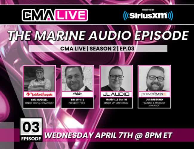 CMA LIVE | EP.3 | THE MARINE AUDIO EPISODE