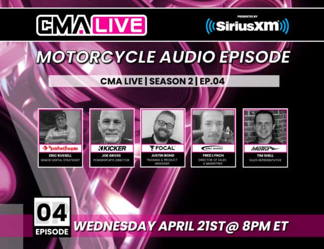 CMA LIVE | EP.4 | MOTORCYCLE AUDIO EPISODE