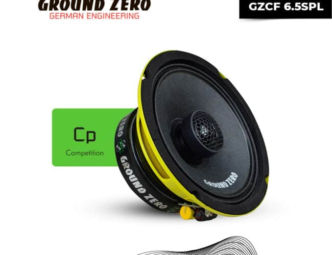 Product Spotlight | The new line of Competition Coax speakers from Ground Zero