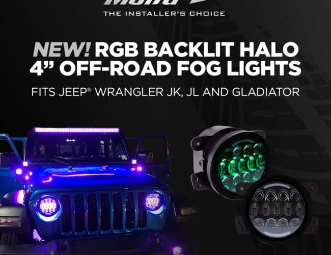 Product Spotlight   New Soundbar Speaker Adapter and RGB Off-Road Fog Lights from Metra