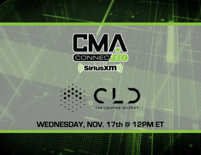 CMA CONNECTED | Car Lighting District
