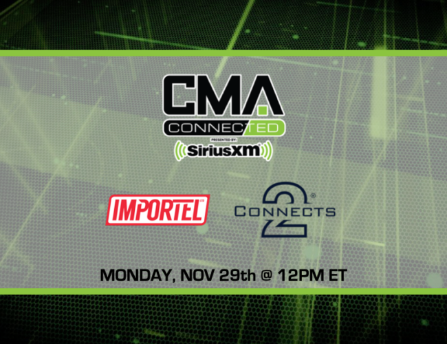 CMA CONNECTED | Connects2