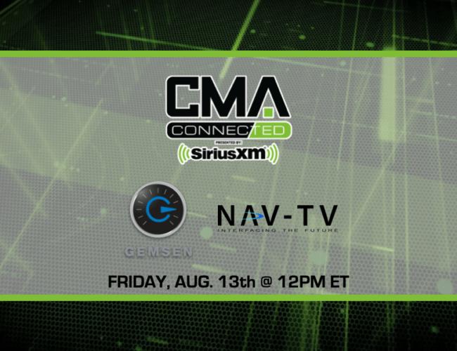 CMA CONNECTED   Nav-TV