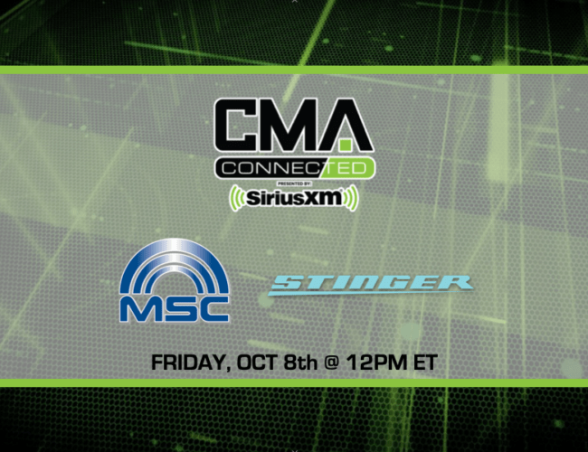 CMA CONNECTED | Stinger