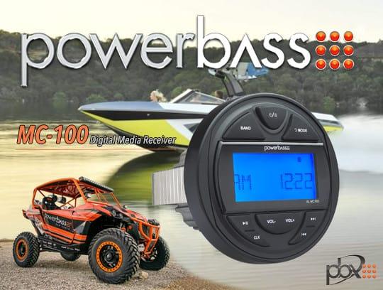 Product Spotlight | MC-100 Digital Media Receiver from PowerBass