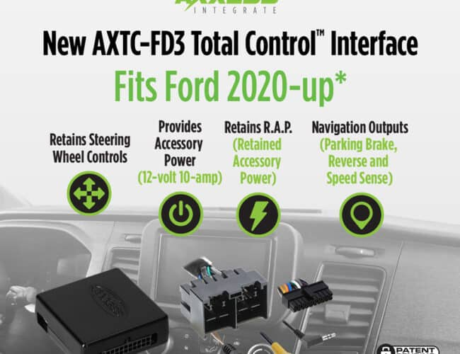 Product Spotlight   Two New Interfaces Designed to Fit Newer Ford SUVs, Vans, and Trucks from Axxess