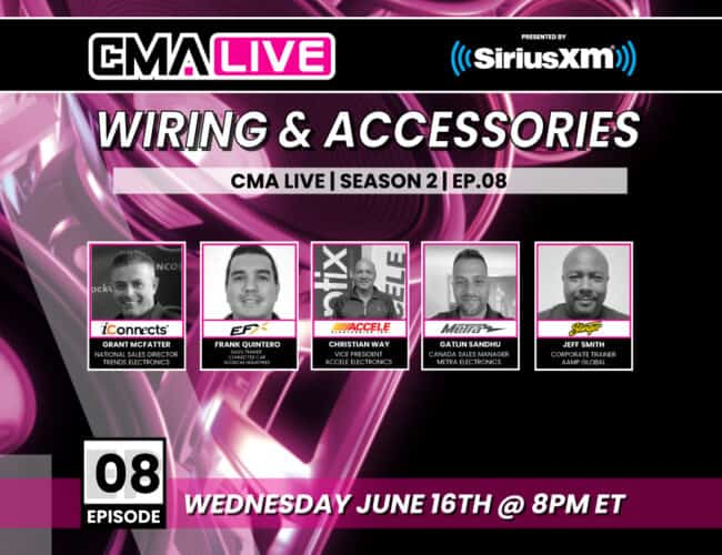 CMA LIVE | EP.08 | WIRING & ACCESSORIES