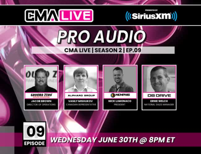 CMA LIVE | SEASON 2 | EP.09 | PRO AUDIO