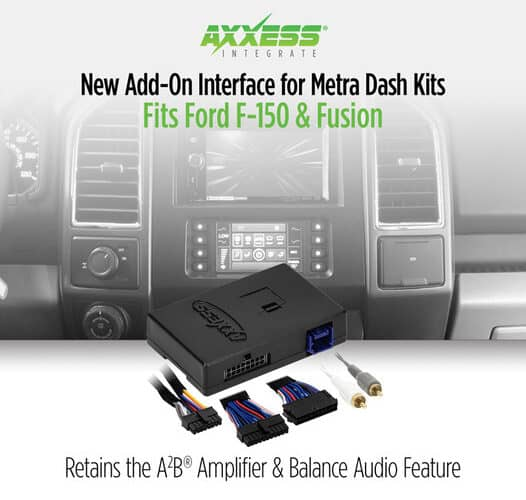 Product Spotlight   New Add-On Interface for Metra Dash Kits from Axxess