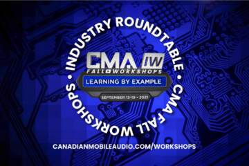 2021 CMA INDUSTRY ROUNDTABLES – OFFICIAL SCHEDULE