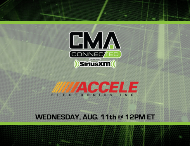 CMA CONNECTED | Accele