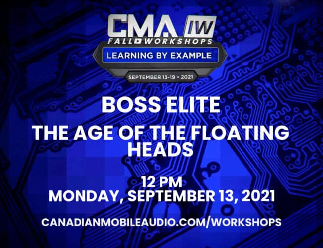 BOSS Elite – The Age of the Floating Heads