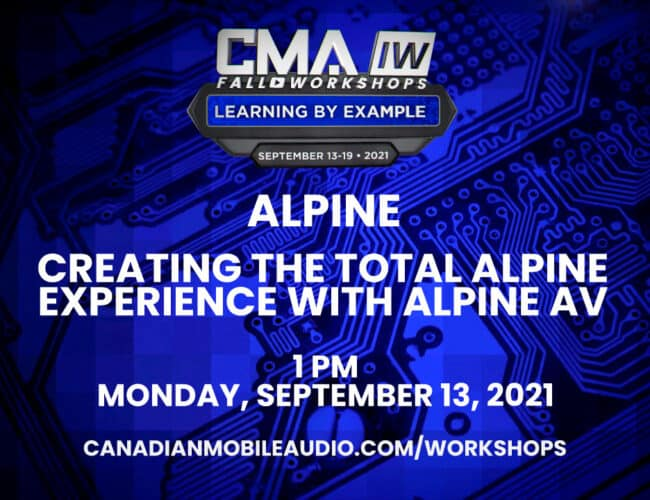 Alpine – Creating the Total Alpine Experience with Alpine AV