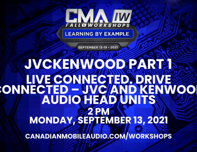 JVCKENWOOD Part 1 – LIVE CONNECTED. DRIVE CONNECTED – JVC and Kenwood Audio Head Units