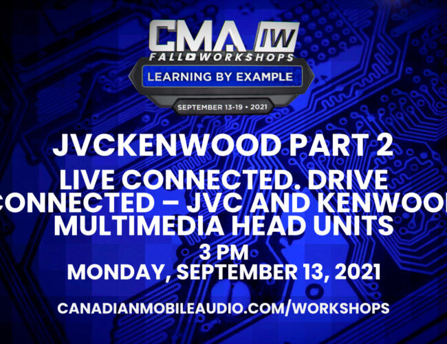 JVCKENWOOD Part 2 – LIVE CONNECTED. DRIVE CONNECTED – JVC and Kenwood Multimedia Head Units