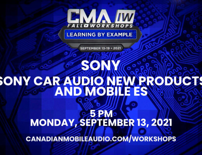 Sony – Sony Car Audio New Products and Mobile ES
