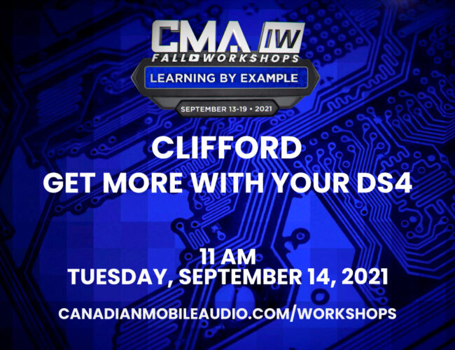 Clifford – Get More With Your DS4