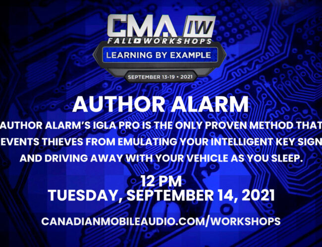 Author Alarm – IGLA Pro is the only proven method that prevents thieves from emulating your intelligent key signal and driving away with your vehicle as you sleep.