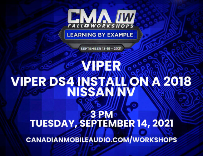 Viper – Viper DS4 Install on a 2018 Nissan NV