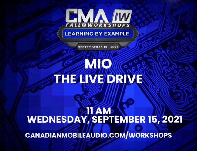 MIO – The Live Drive
