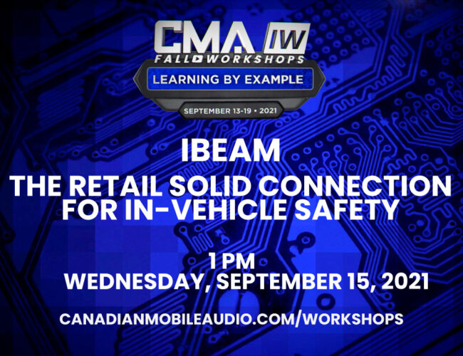 iBeam – The Retail Solid Connection for In-vehicle Safety