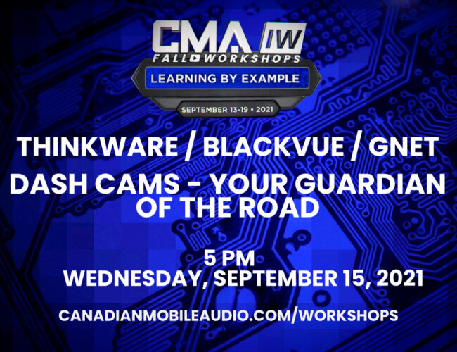 Thinkware / Blackvue / GNET – Dash Cams – Your Guardian of the Road