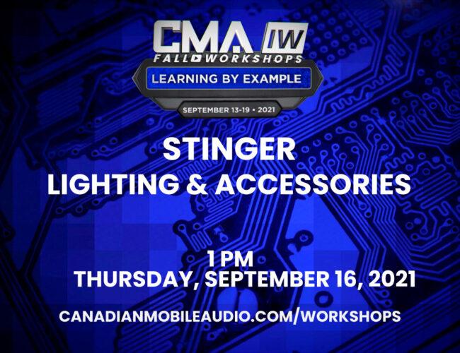 Stinger – Lighting & Accessories