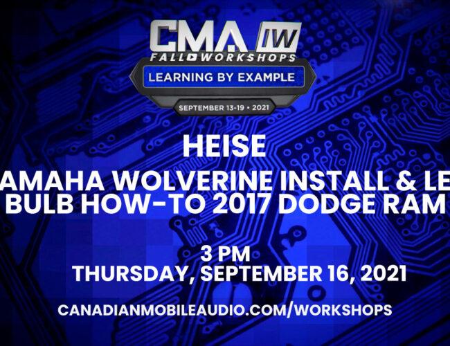 Heise – Yamaha Wolverine Install & LED Bulb HOW-TO 2017 Dodge Ram