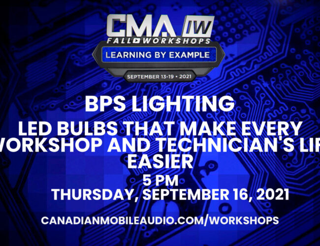 BPS Lighting – LED Bulbs That Make Every Workshop and Technician's Life Easier