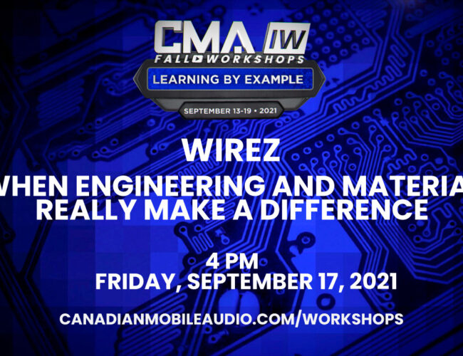 Wirez – When Engineering and Material Really Make a Difference