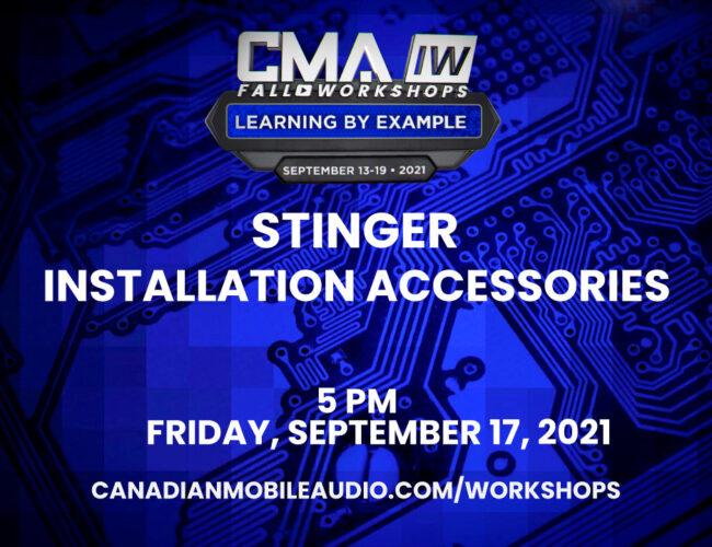 Stinger – Installation Accessories