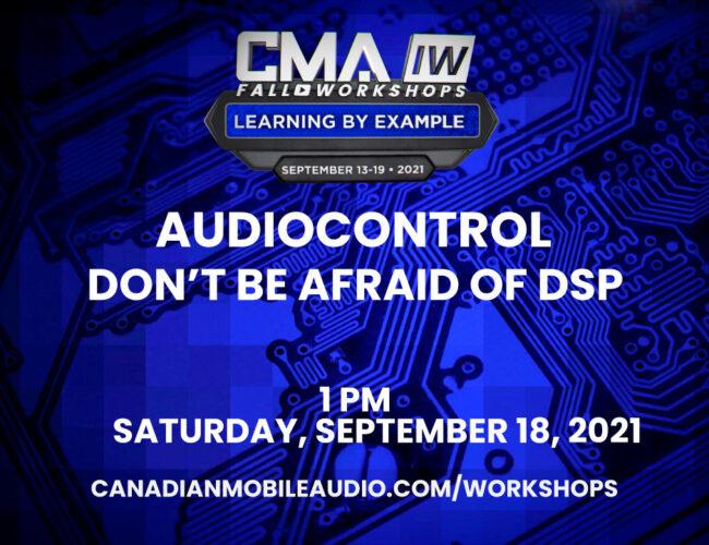AudioControl – Don't Be Afraid of DSP
