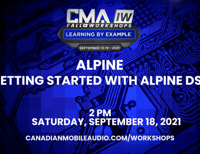 Alpine – Getting Started with Alpine DSP