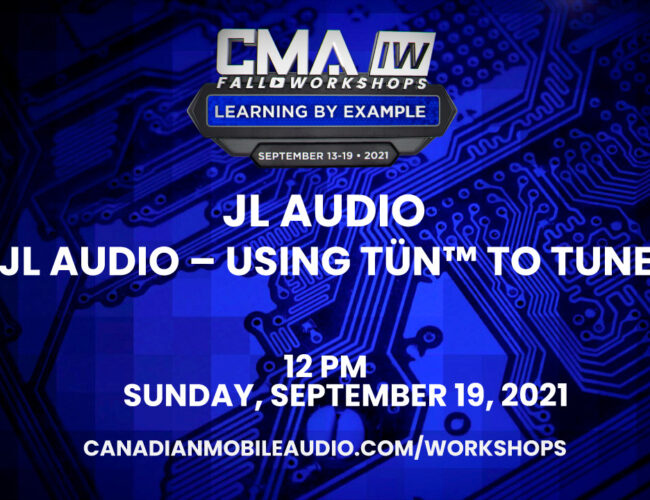JL Audio – Using TüN™ to Tune
