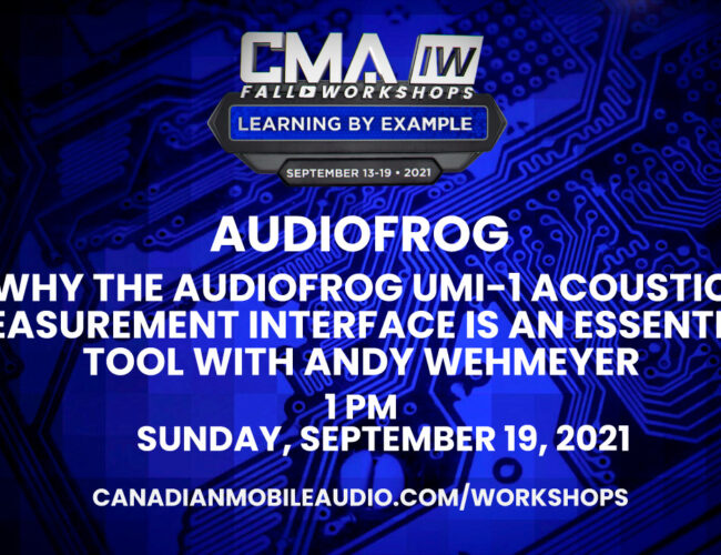 Audiofrog – Why the Audiofrog UMI-1 Acoustic Measurement Interface is an Essential Tool with Andy Wehmeyer