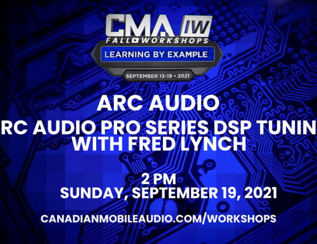 Arc Audio – ARC Audio Pro Series DSP Tuning with Fred Lynch