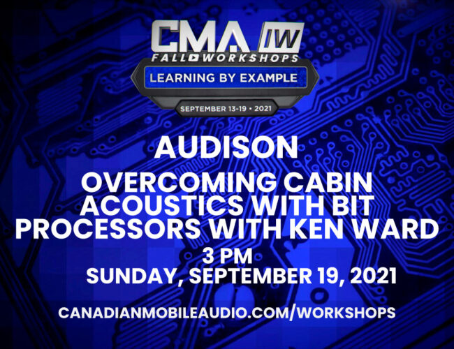 Audison – Overcoming Cabin Acoustics with bit Processors with Ken Ward