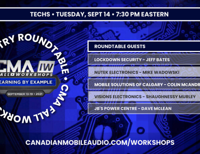 Industry Roundtable – Techs