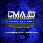 CMA Fall Workshops | Training Event | Sept. 13th-19th