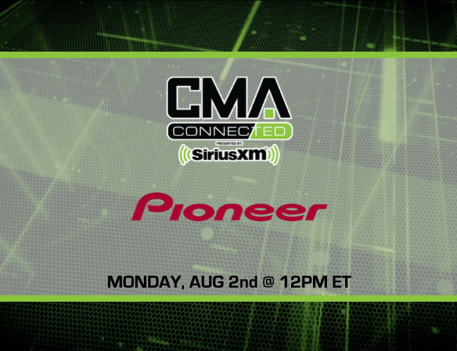 CMA CONNECTED   Pioneer